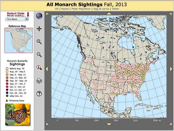 Explore Monarch Migration Maps!