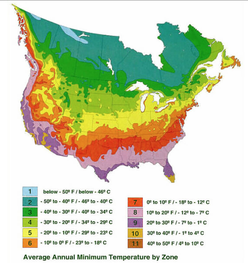 Climate Zone Map Of France.Journey North Tulip Test Gardens