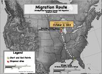 Migration progress map as of Oct. 21, 2013