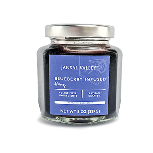 Blueberry Infused Honey