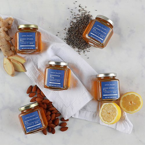 Tangerine Infused Honey