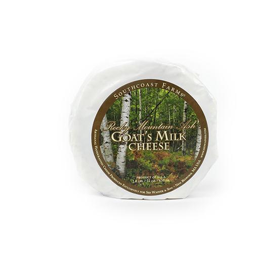 Rocky Mountain Ash Goat's Milk Cheese