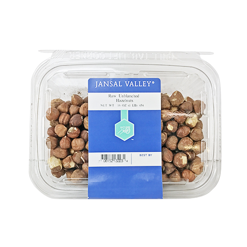 Raw Unblanched Hazelnuts