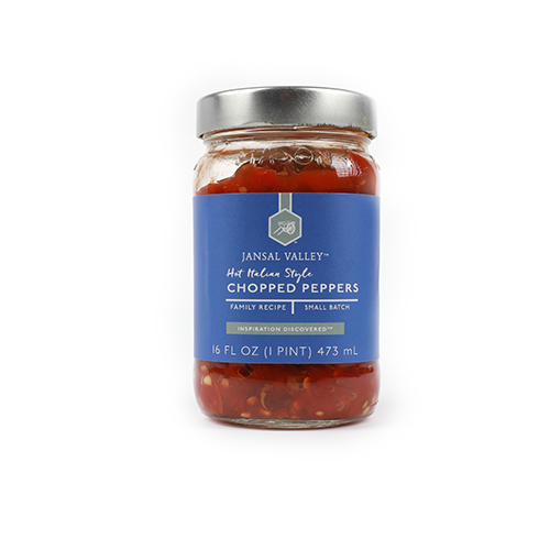 Hot Italian Style Chopped Peppers