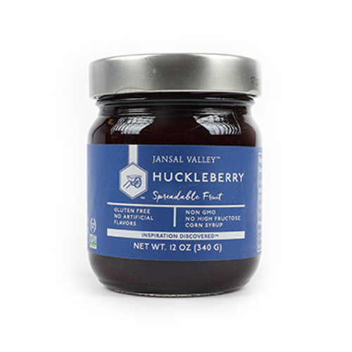 Huckleberry Spreadable Fruit