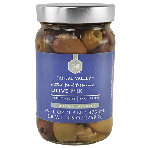 Pitted Mediterranean Olive Mix