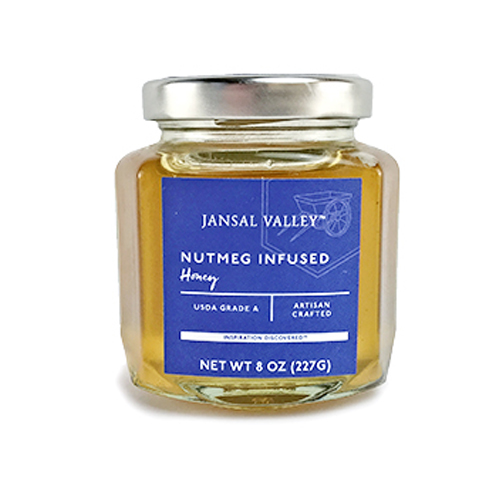 Nutmeg Infused Honey