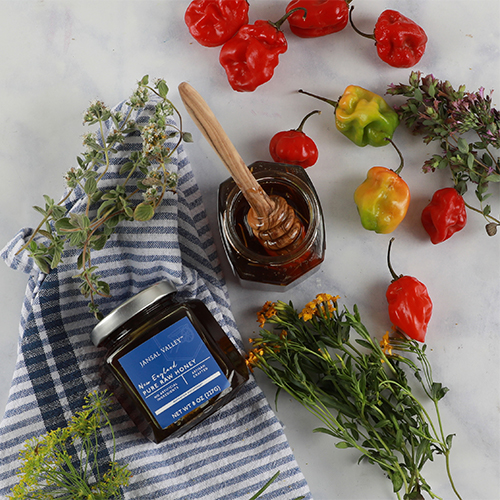 Ghost Pepper Infused Raw Honey