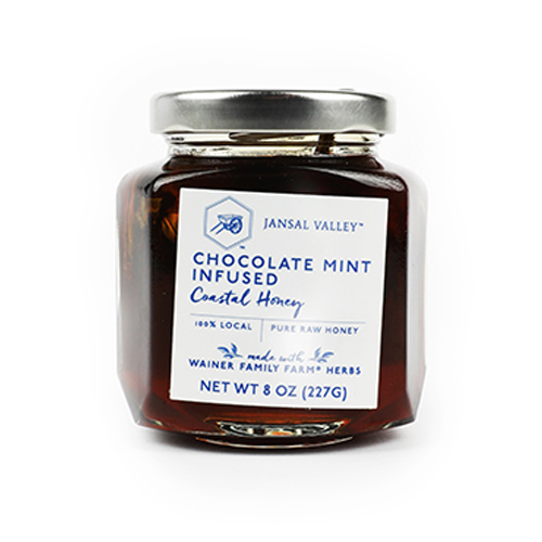 Chocolate Mint Infused Coastal Honey