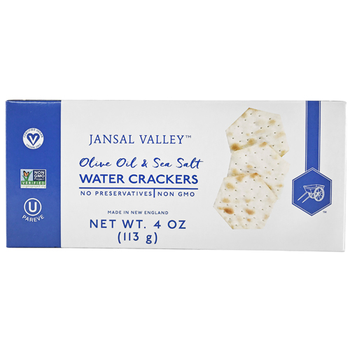 Olive Oil & Sea Salt Water Crackers
