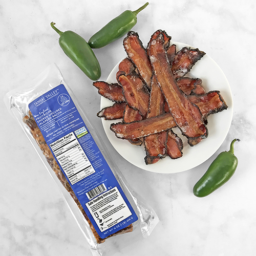 Fruitwood Smoked Uncured Jalapeno Bacon