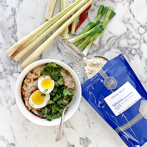 Lemongrass Congee