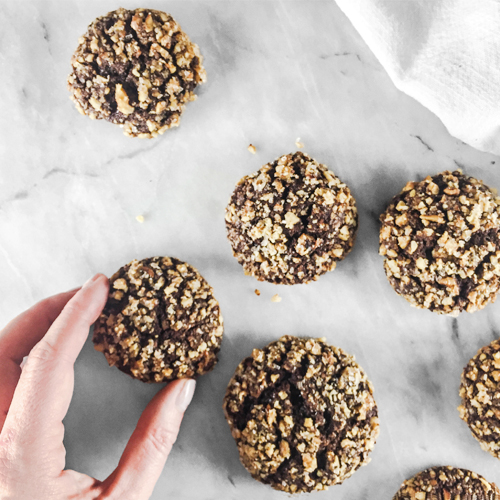 Cherry Walnut Chocolate Cookies