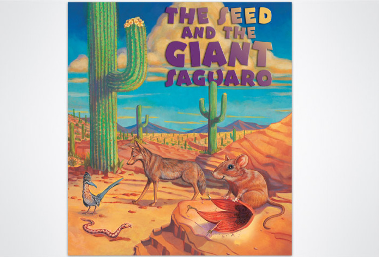 <p><em>The Seed and the Giant Saguaro</em>, Rising Moon, 2003. Book design.</p>