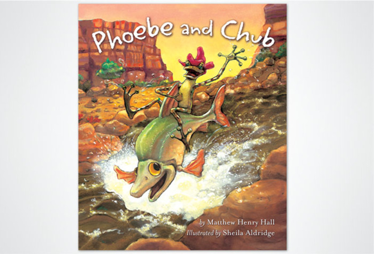<p><em>Phoebe and Chub,</em> Rising Moon, 2004. Book design.</p>