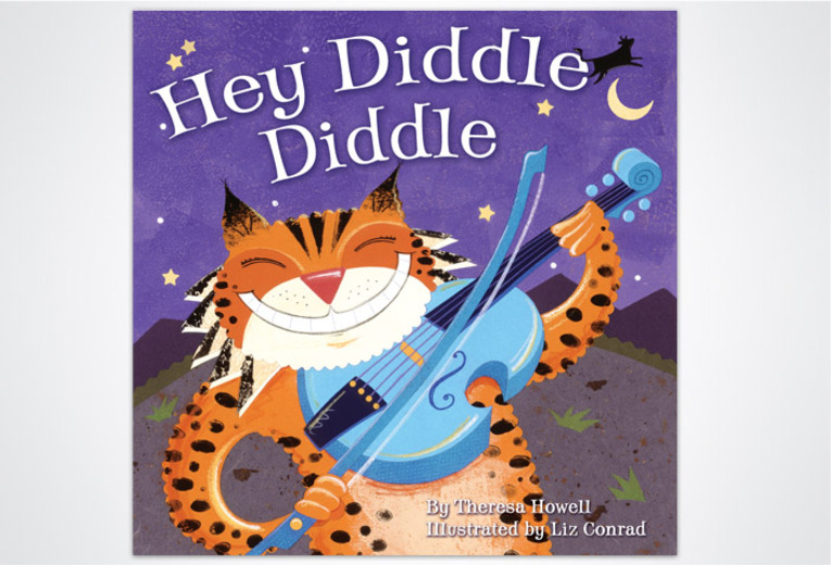 <p><em>Hey Diddle Diddle,</em> Rising Moon, 2005. Book design.</p>