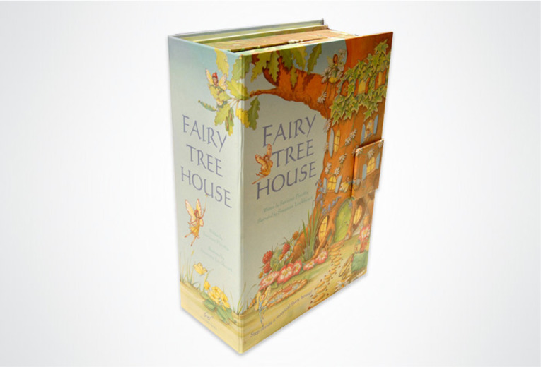 <p><em>The Fairy Tree House, </em>Chronicle Books, 2008. Package design.</p>