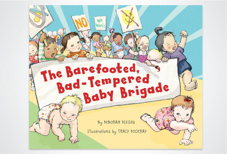 <p><em>The Barefooted, Bad-Tempered Baby Brigade, </em>Random House/Tricycle Press, 2010. Book design.</p>