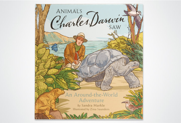 <p><em>Animals Charles Darwin Saw,</em> Chronicle Books, 2008. Art direction &amp; book design.</p>