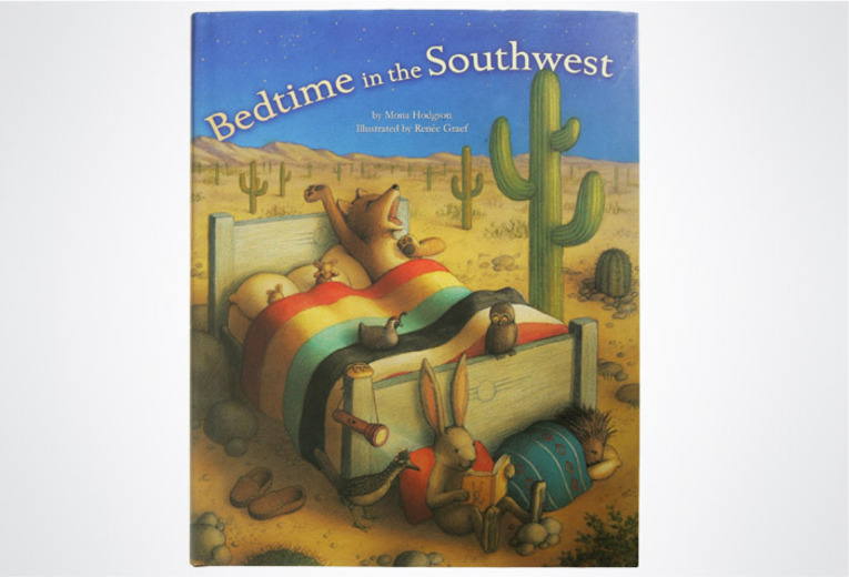 <p><em>Bedtime in the Southwest</em>, Rising Moon, 2004. Book design.</p>