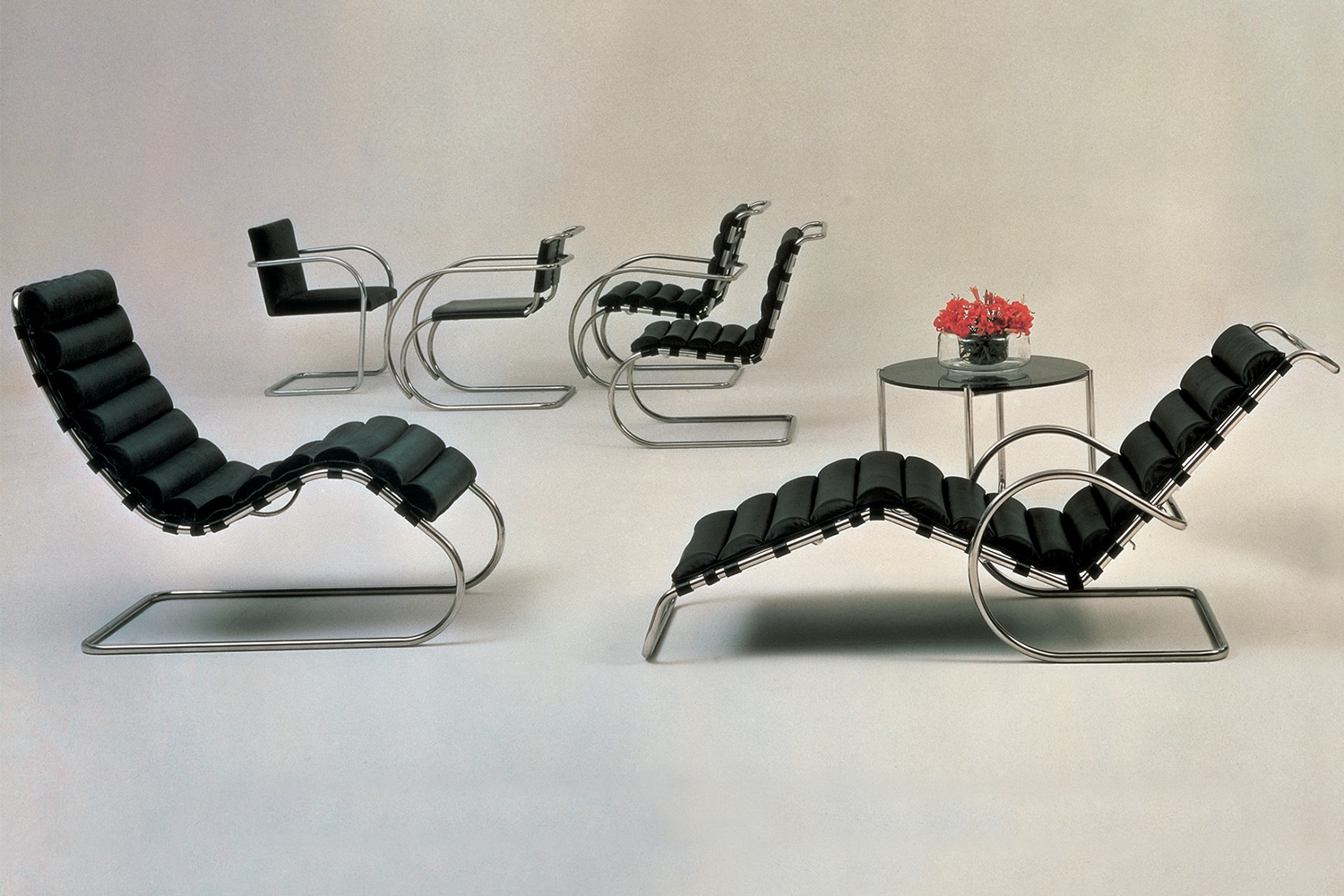 Chaise Brno Mies Van Der Rohe the archive | knoll