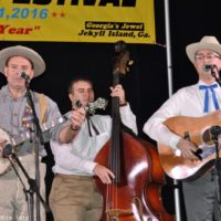 Phillip Steinmetz and the Sunny Tennesseans at the 2016 Jekyll Island Bluegrass Festival - photo by Bill Warren