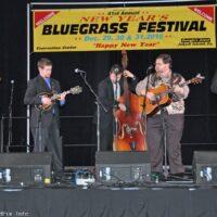 Junior Sisk & Rambler's Choice at the 2016 Jekyll Island Bluegrass Festival - photo by Bill Warren