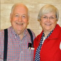 Norman and Judy Adams at the 2016 Jekyll Island Bluegrass Festival - photo by Bill Warren
