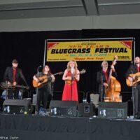 Rhonda Vincent & The Rage at the 2016 Jekyll Island Bluegrass Festival - photo by Bill Warren