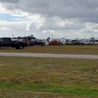 Parking and RV camping at the 2017 Yee Haw Music Festival - photo © Bill Warren
