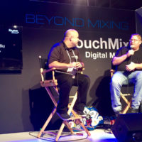 Daniel Routh is interviewed at NAMM 2017 about the QSC Touchmix system