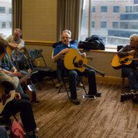 Bryan Sutton guitar workshop at Wintergrass 2017 - photo © Tara Linhardt