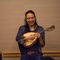 Caterina Lichtenberg classical mandolin workshop at Wintergrass 2017 - photo © Tara Linhardt