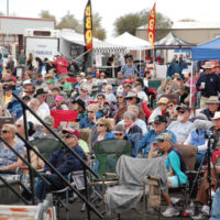 Audience at the Colorado River Bluegrass Music Festival (February 2017)