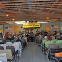 Gosepl sing at the February Palatka Bluegrass Festival (2/11/17) - photo © Bill Warren