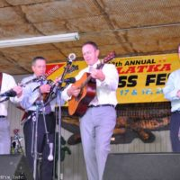 The Spinney Brothers at the February Palatka Bluegrass Festival (2/11/17) - photo © Bill Warren