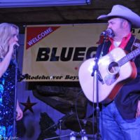 Daryle Singletary and Rhonda Vincent perform together at the February Palatka Bluegrass Festival (2/11/17) - photo © Bill Warren