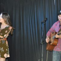 Grace Pfeiffer and Billy Droze at the 2017 Florida Bluegrass Classic (2/21/17) - photo © Bill Warren