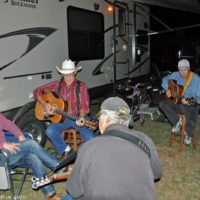 Billy Droze joins in the jamming at the 2017 Florida Bluegrass Classic  (2/21/17) - photo © Bill Warren