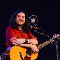 Harris Paseltiner (guitar player of the band Darlingside) at Wintergrass 2017 - photo © Tara Linhardt