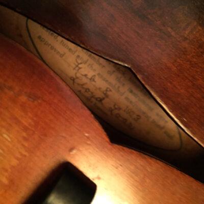 '23 Loar-signed Gibson F-5 #72058 - The Missouri Loar