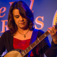 Kristin Scott Benson with the Grascals at Joe Val Bluegrass Festival (2/18/17) - photo © Tara Linhardt