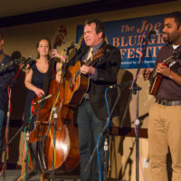 Moonshine Falls on the Showcase Stage at Joe Val Bluegrass Festival (2/18/17) - photo © Tara Linhardt