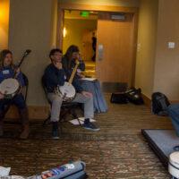Pete Wernick banjo workshop at Wintergrass 2017 - photo © Tara Linhardt