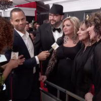The Isaacs interviewed during the red carpet pre-show for the Grammy Premiere Awards (2/12/17)