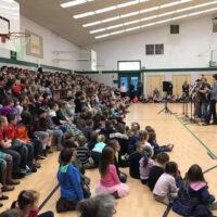 Nu-Blu prforms at the West Palms Conservatory School