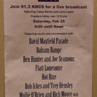Some rooms have live radio broadcasts at Wintergrass 2017 - photo © Tara Linhardt