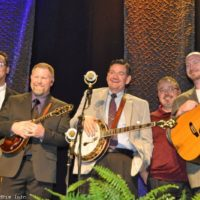Joe Mullins & The Radio Ramblers at the March 2017 Southern Ohio Indoor Music Festival - photo by Bill Warren