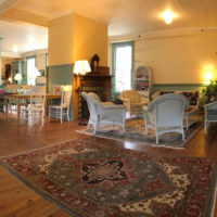 On the National Register of Historic Places, The Balsam Mountain Inn appears much as it did when constructed over a century ago. The 42,000 square foot Inn was once serviced by passenger rail. Extra wide hallways were built to accommodate the steamer trunks accompanying wealthy visitors.