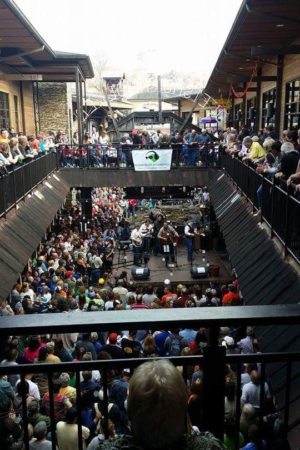 The Soggy Bottom Boys perform at Ole Smoky Distillery in March 2014